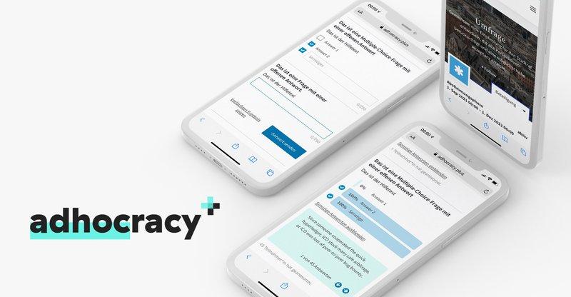 Neues Umfragemodul für adhocracy+